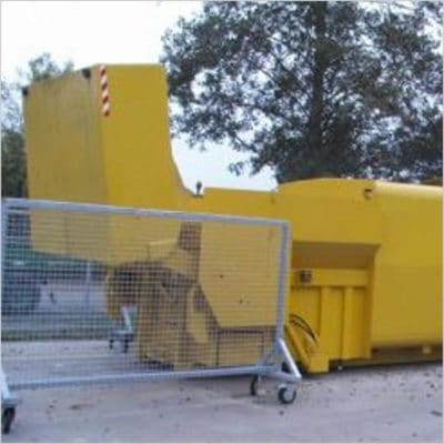 Compactor with shovel