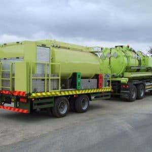 Sewerage De-Watering Tank