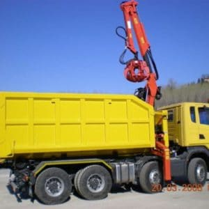 Roll On Roll Off Bin with Grab Loading System