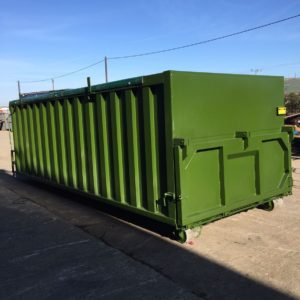 Heavy Duty 6ft High Roll On Roll Off Sludge Skip