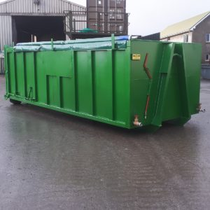 Roll On / Roll Off Sludge Dewatering Unit