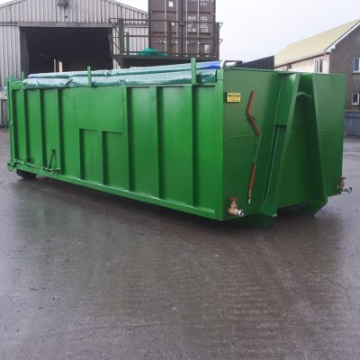Roll On Roll Off Sludge Dewatering