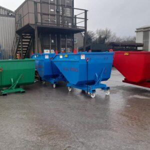 Selection of Forklift Skips